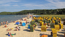 Beach on Ruegen island Stock Photography