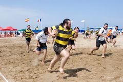 Beach Rugby Royalty Free Stock Photo
