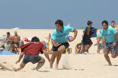 Beach rugby Stock Photos