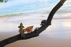Beach runaway Stock Image