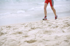 Beach runner Royalty Free Stock Images