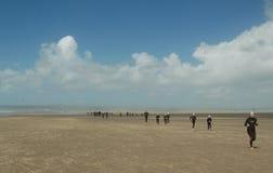 Beach running westward ho