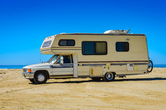 Beach RV - Oceano Dunes - California Royalty Free Stock Images