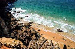 Beach in Sagres, Portugal Stock Photo