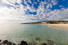 Beach of Saint Gilles at Reunion Island Stock Images