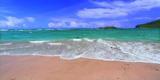 Beach on Saint Lucia Stock Photos