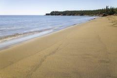 Beach. A beach in Saint Martins New Brunswick Stock Images