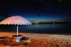 Beach in Saipan Stock Photography
