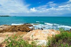 Beach at Samed Island,Thailand Royalty Free Stock Photography
