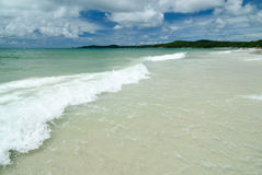 The beach on Samed Island in thailand royalty free stock image