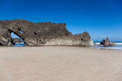 Beach of San Antolin Stock Images