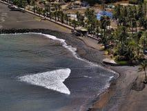 Beach of San Sebastian on Gomera Stock Photography