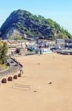 Beach of San Sebastian Royalty Free Stock Photos