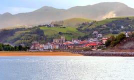 Beach in San Sebastián in Spain Stock Photo