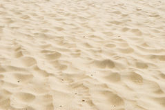 Beach sand. Waves of beach sand background Stock Photography