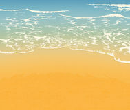 Beach and sand Royalty Free Stock Photo