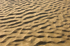 Beach sand. Waves on beach sand Royalty Free Stock Photo