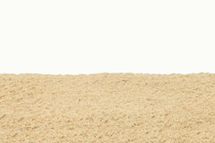 Beach sand background Stock Photo