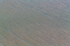 Beach sand background. Stock Image