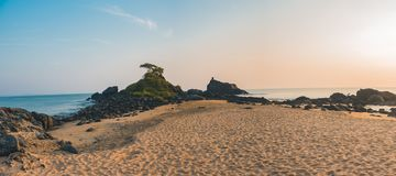 Beach with Sand Royalty Free Stock Images