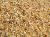 Beach sand close-up Royalty Free Stock Photo