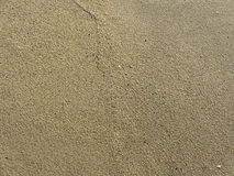 Beach Sand in Half Moon Bay Royalty Free Stock Images