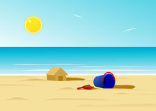 Beach. Royalty Free Stock Photo