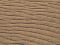 Beach sand pattern Stock Images