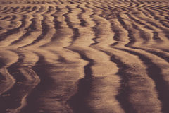Beach sand pattern Stock Image