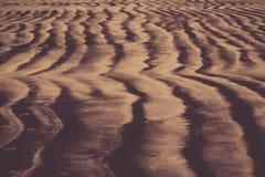 Beach sand pattern. Pattern in the beach sand, India coastline stock image