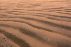 Beach sand pattern Royalty Free Stock Photos