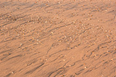 Beach sand pattern Stock Photos