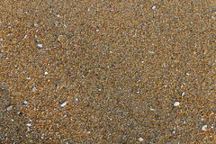 Beach sand pattern Stock Image