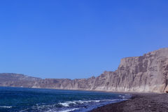 Beach, sand, rocks. End sun Royalty Free Stock Photos