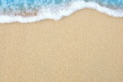 The beach sand Stock Photography