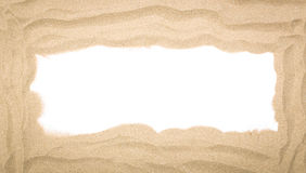 Beach sand scattering isolated Royalty Free Stock Photo