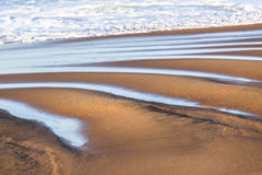 Beach Sand Sea Water Stock Photo