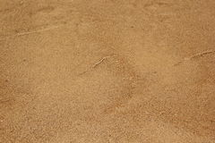 Beach sand and sea water Royalty Free Stock Image