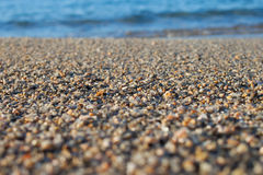 Beach sand. Royalty Free Stock Images