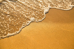 Beach sand texture Royalty Free Stock Photography