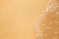 Beach sand texture Stock Photos