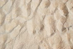 Beach Sand Texture Stock Images