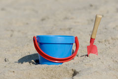 Beach Sand Toys Stock Photos