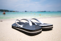 Beach Sandals Royalty Free Stock Image