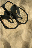 Beach sandals Royalty Free Stock Photo