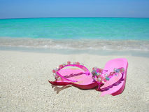 Free Beach Sandals Royalty Free Stock Images - 4365039