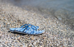 Beach sandals Stock Photo