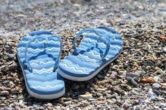 Beach sandals Stock Image
