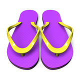 Beach Sandals.  Stock Photo