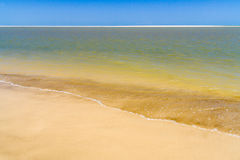 Beach and sandbank Stock Image